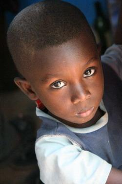 Ghanaian child