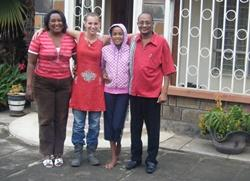 Host family in Kenya
