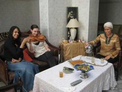 Stay with a Moroccan host-family