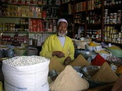 A Moroccan shop-keeper