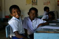 Sri Lankan school-children