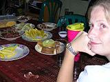 Thailand, Projects Abroad in Thailand - Dinner at Host Family