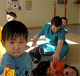 About Us, Our Associate Charity - Toys and facilities for street-children in Mongolia