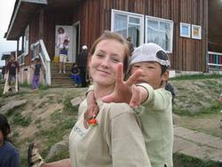 Orphanage work in Mongolia