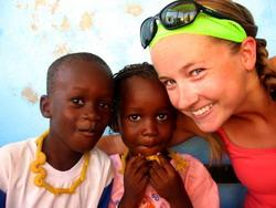 Care volunteer in Senegal