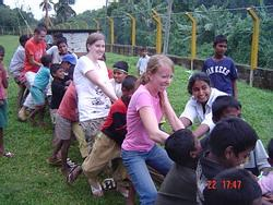 Sports Day at an orphange