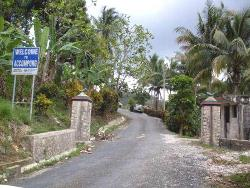 Entrance to the Accompong community