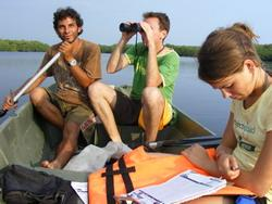Biodiversity study in the lagoon