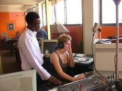 Radio placement in Ghana