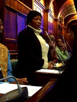 Human Rights in South Africa - At a trial in South Africa
