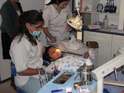 Dentistry volunteer