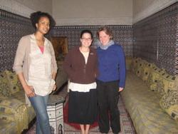 Medical volunteers in Morocco