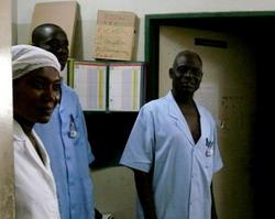 Medical staff in Togo