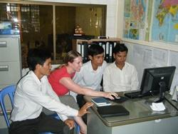 Volunteer as a Journalist in cambodia