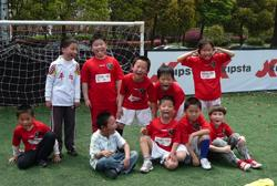 Kids on China sports project