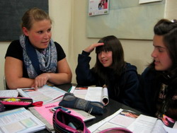 Volunteer on a Teaching placement