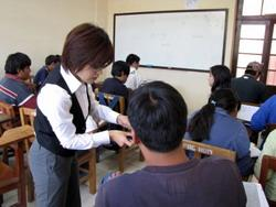 Teaching in Bolivia