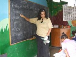 Teaching in Ethiopia