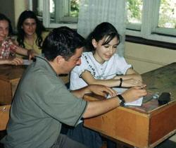 Teaching English at a school in Romania